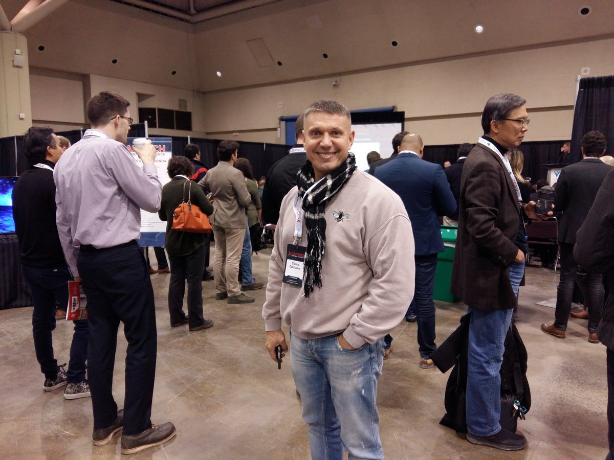 #ThrowbackThursday One of our co-founders attending an investment conference in #Toronto. Just one of our many roadshow destinations! #blockchain #fintech #invest<br>http://pic.twitter.com/fNMQXErBFo