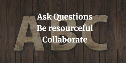 The new ABCs for young learners: Ask questions, be resourceful, and collaborate. https://t.co/krBmZpN4rg #ewopinion