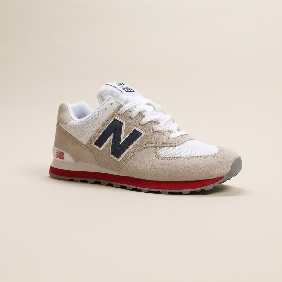 The New Balance 574 Core Plus in gray