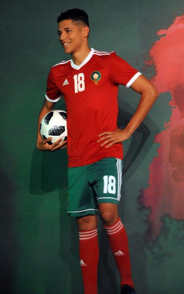 بالصور .. هذا هو قميص المنتخب المغربي لكرة القدم خلال مونديال روسيا