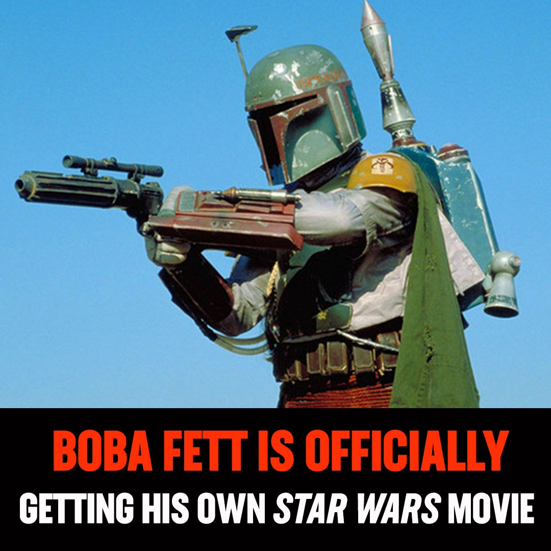 🚨 Boba Fett movie confirmed! Logan director James Mangold will write and direct the new #StarWars spinoff 🚨  via @THR
