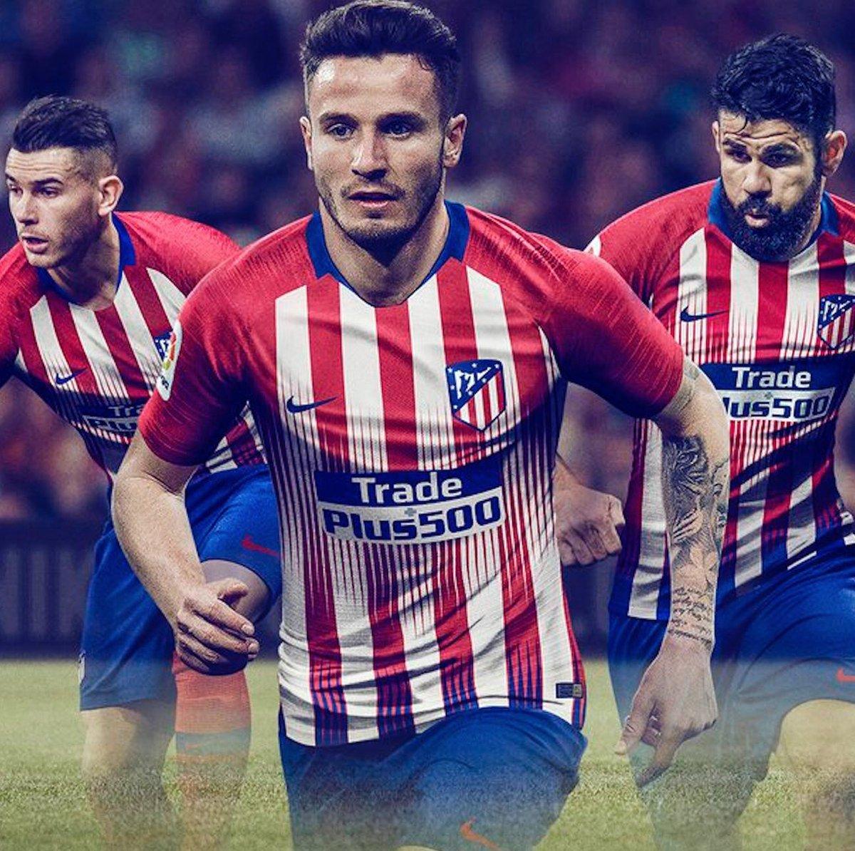 #NIKE ———OFFICIEL ! Les nouveaux maillots «domicile» de l'Atletico Madrid pour la saison 2018/2019.   - FestivalFocus