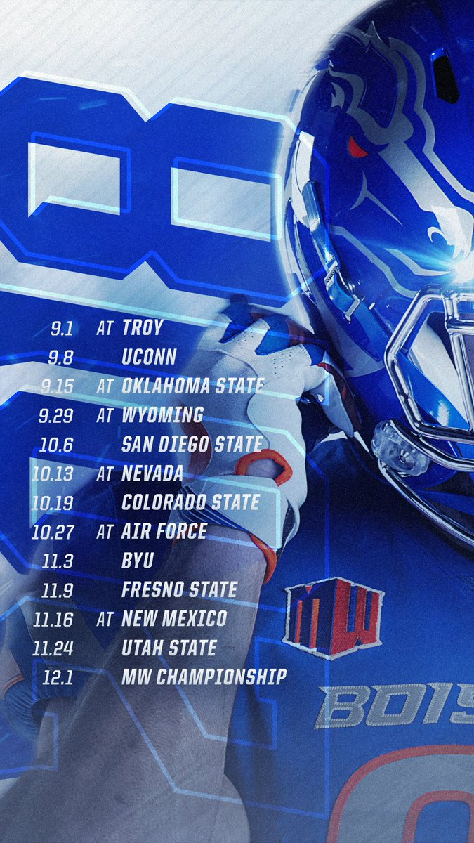 Boise State Football On Twitter Update Your Lock Screen