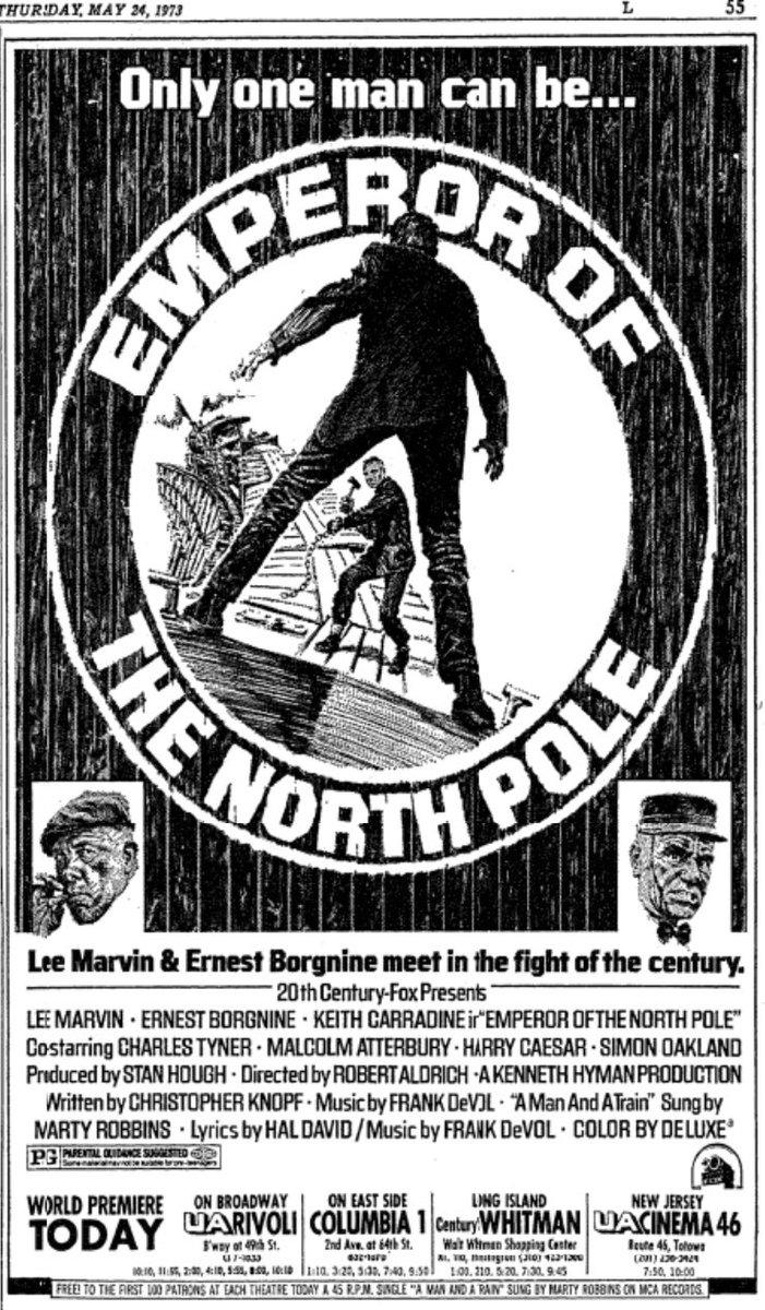 emperor of the north 1973 cast