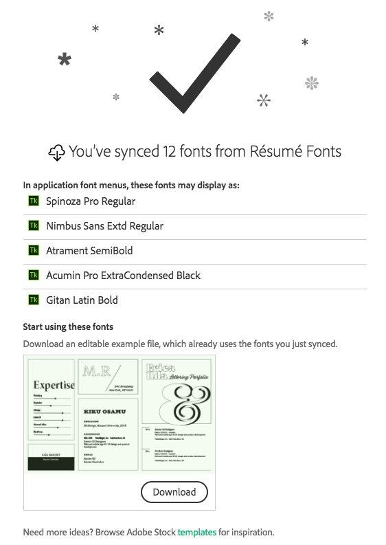 Adobe Fonts on Twitter: