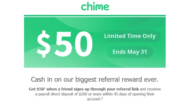 Get an awesome and 100% Free Chime Bank Account! No Fees! Instant Acc