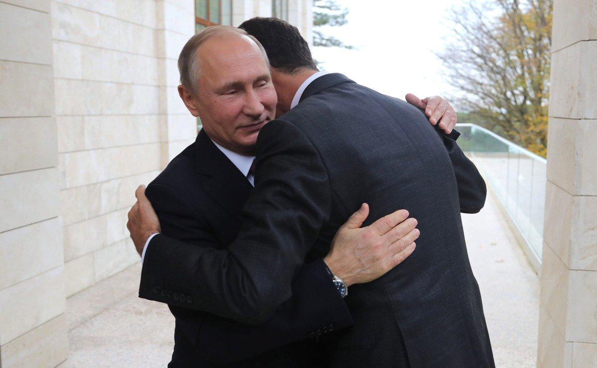 Путін у Сочі зустрівся з Асадом - Цензор.НЕТ 6032