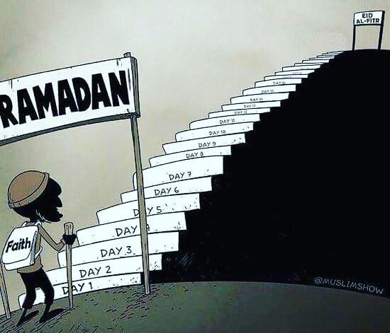 As we have started with Bismillah, may we end it with Alhamdulillah🙏 #RamadanKareem #Ramadan