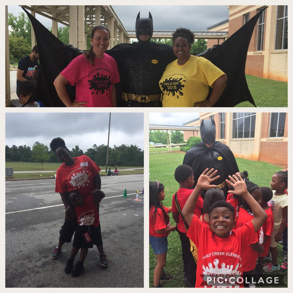 Who had Batman deliver popsicles for Field Day? @WCE_HCS did!!!! Thank you @eagleslandingch