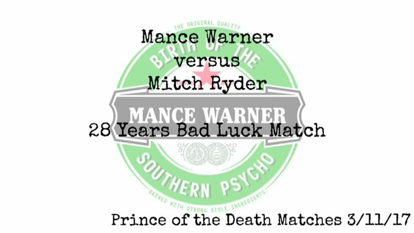 The Birth Of The Southern Psycho @ManceWarner in @IWAMidSouth now available!!! Blu-ray/DVD: ow.ly/AIXG30k3jqt  MP4: ow.ly/3AOu30k3jst  VOD: ow.ly/BszN30k3jtv  SALE ENDS 5/19/18 1PM