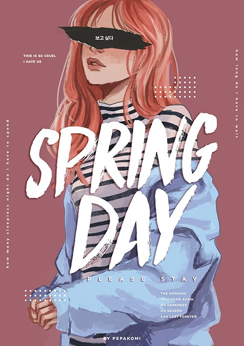 BTS song inspired outfits - Spring Day #iVoteBTSBBMAs