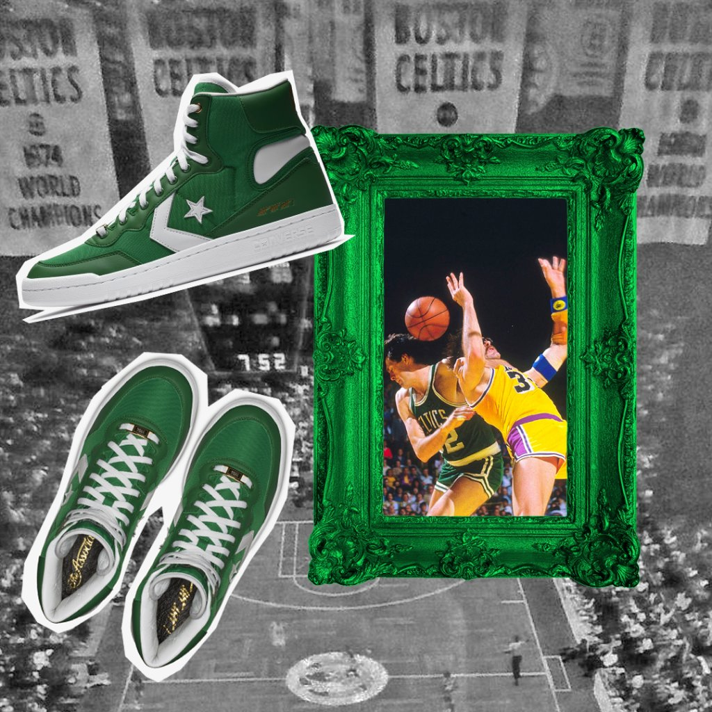 "44d2580d4e5f Kevin McHale  ArtofAChampion  Converse Fastbreak Hi ""No Easy Buckets""  Available at House of Hoops Now! Online  http   bit.ly 2rMCdIO  pic.twitter.com  ..."