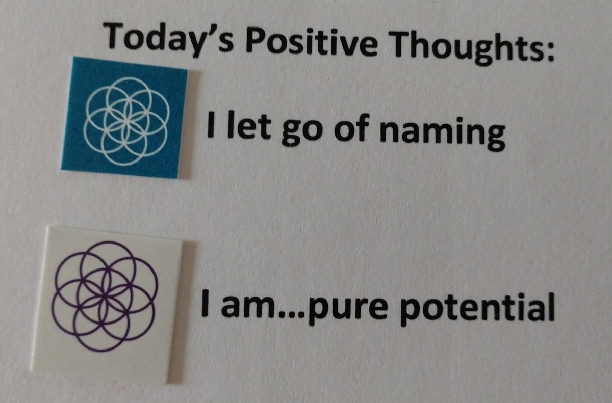 test Twitter Media - Today's Positive Thoughts: I let go of naming and I am...pure potential. #affirmation https://t.co/zV2GShekwb