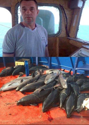 Украинский браконьер и его улов