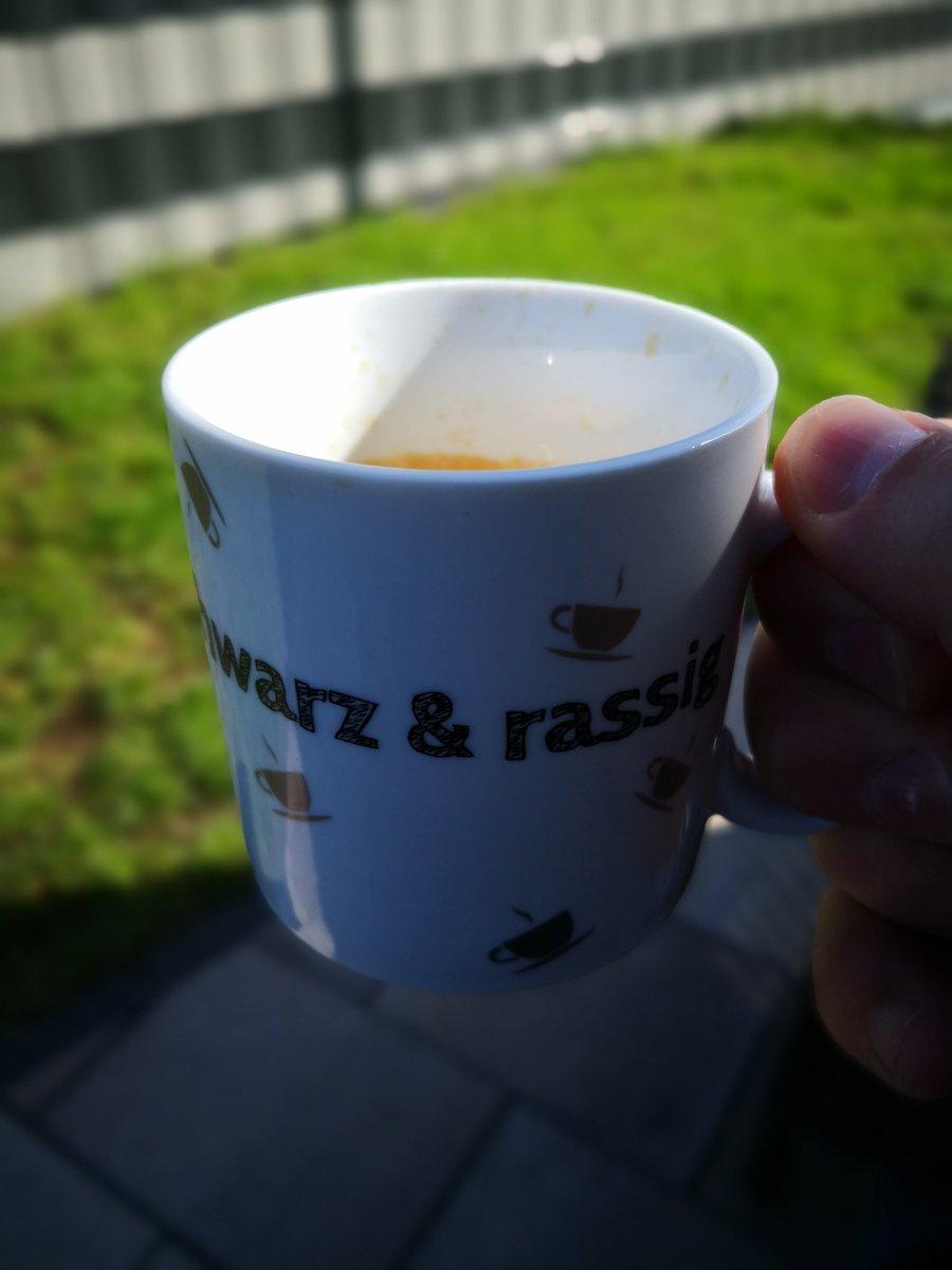 schwarz & rassig  #Kaffee