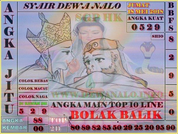 Syair Dewa Nalo Jumat 18-05-2018
