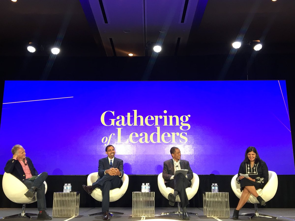 Key thoughts from this panel: History of work is a history of exploitation. How do we make sure the future of work doesn't resemble the past of work?  • Rethink who owns &amp; has access to capital • Make workers the center of reform • Properly educate children of color  #NPGoL <br>http://pic.twitter.com/CnkjjpVqpa