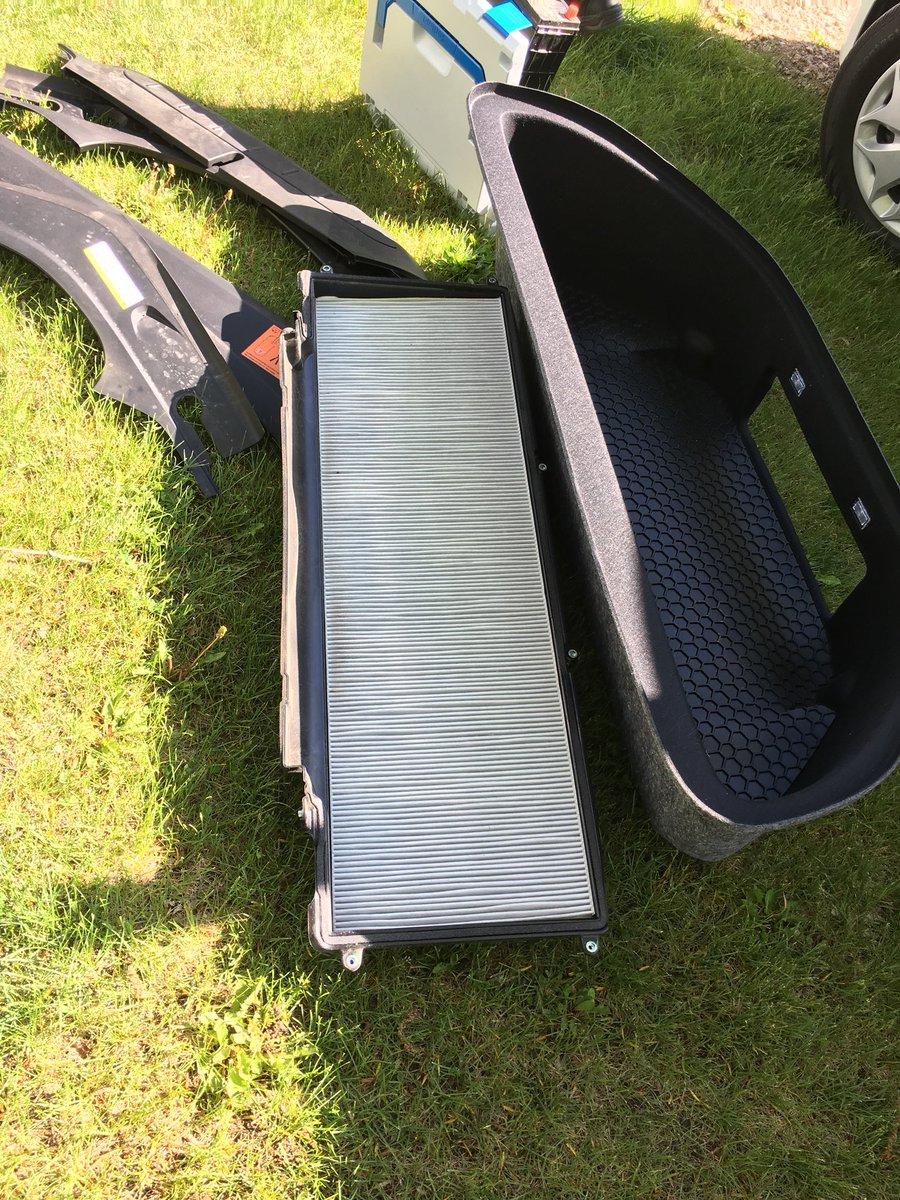 Mike jugglingpumba twitter for Tesla model x cabin air filter
