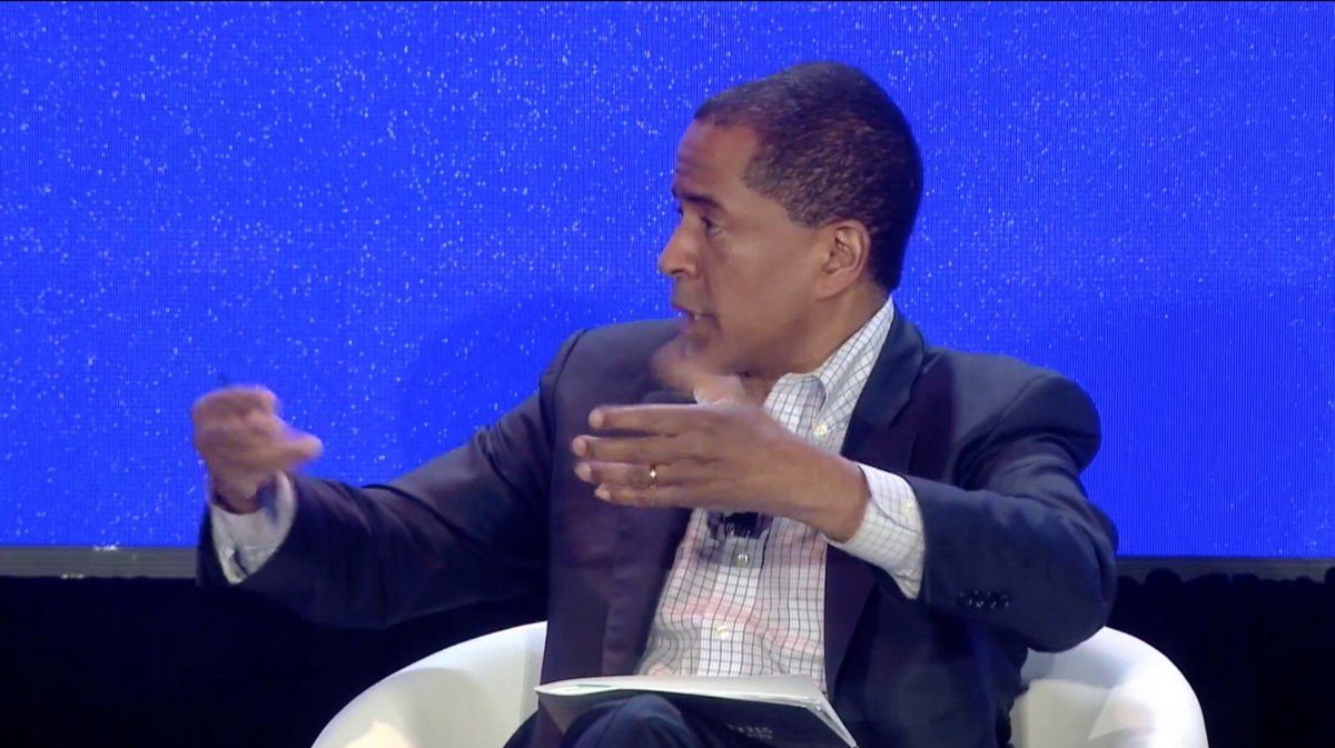 There are three incredibly important items the #futureofwork sector has spent less time that @OpptyatWork focuses on:  1) Skills-based hiring to a career path job 2) Guidance for job seekers 3) Talent equity financing: financial support for skilling up   -@byron_auguste #npgol <br>http://pic.twitter.com/oRW3SwydE8