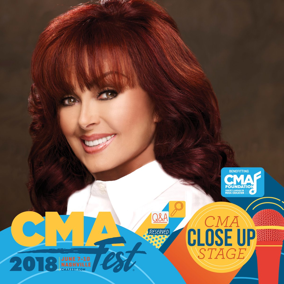 YOU HEARD IT HERE FIRST! I'm appearing at @CountryMusic's #CMAfest in Music City Center in support of the #CMAFoundation & music education! Buy tix here:  #itstartswithME