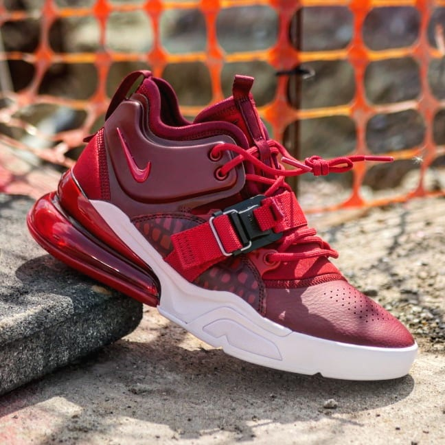 nike air force 270 red