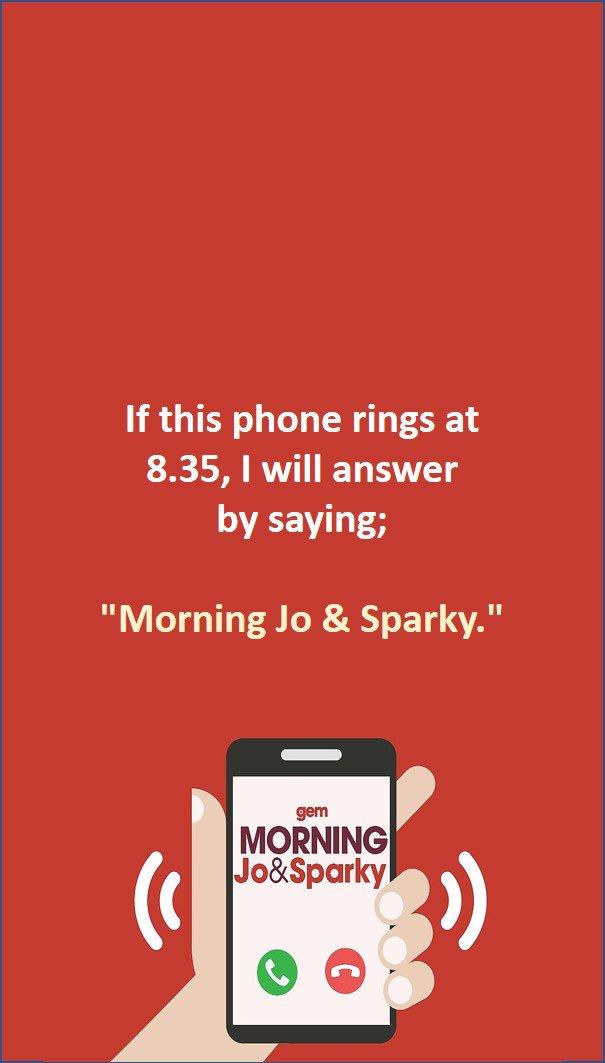 sparky lock screen