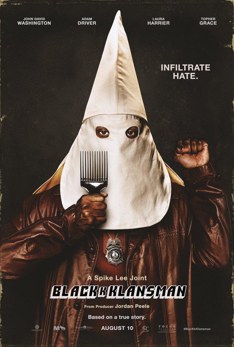 blacklansman affiche