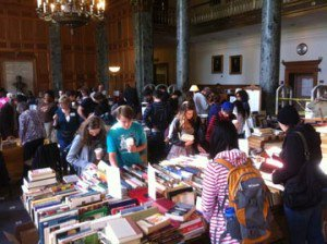 test Twitter Media - Have books you'd like to pass on to other readers?  The Friends of the Wes Library are happy to accept book donations for their book sale.  Leave books in  book donation bins Olin lobby or Sci Li lobby, or email libfriends@wesleyan.edu to make arrangements for larger donations. https://t.co/bUz6GK8Wq0