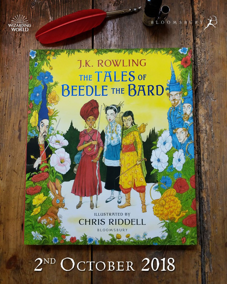 tales of beedle the bard deluxe edition