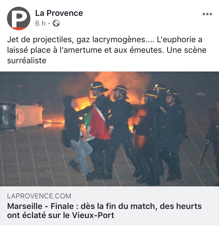 Incidents avec des casseurs à #Marseille hier soir sur le #VieuxPort ... mais c'est pas le drapeau marseillais ça !! Toujours les mêmes, partout. #OM #OMATM #Payet #Deschamps #palestine #gaza #Israel  - FestivalFocus