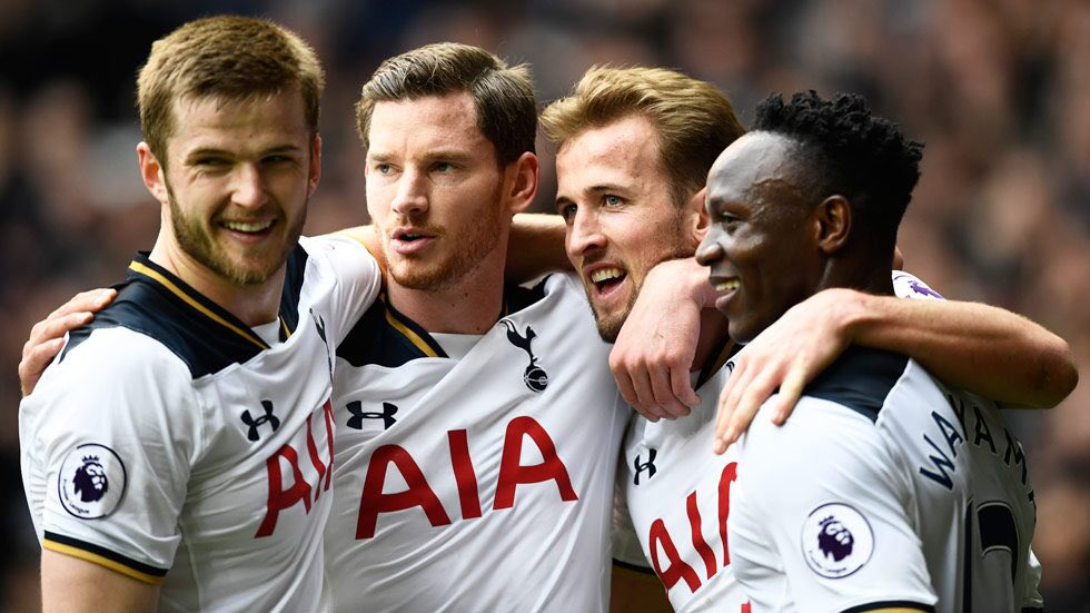 Eric Dier on Jan Vertonghen: If you look at the standard Jan is playing at now, its incredible. The best thing is just to watch his game. I believe hes been the best centre-back in the @PremierLeague this season, which is not easy. #THFC
