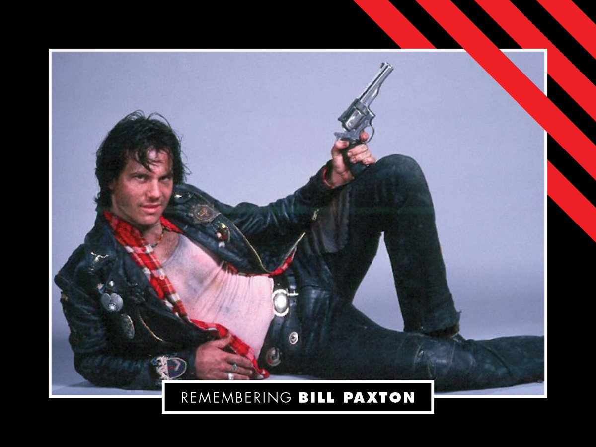 On his birthday, we remember Bill Paxton. Bill&#39;s characters greatly enriched the horror film universe. Take some time today to watch one of his many horror and sci-fi-fi flicks! #Mortuary #NearDark #Aliens #BrainDead<br>http://pic.twitter.com/RvGwJP9zMA