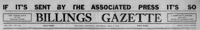 The @billingsgazette knew it a century ago. Good find by @amybethhanson