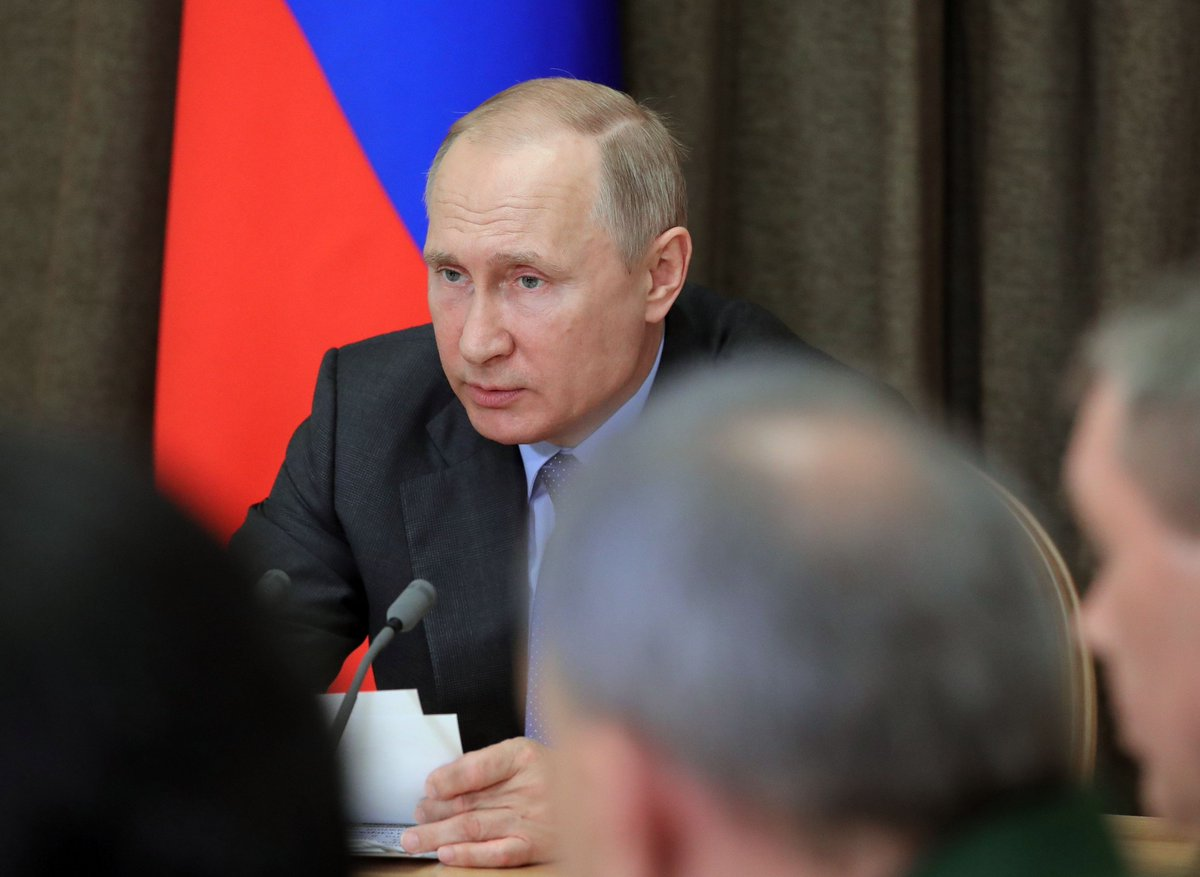 Vladimir Putin held the latest meeting on developing the Armed Forces bit.ly/2rQlsw9