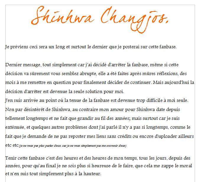 Shinhwa Changjo ғᴀɴʙᴀsᴇ On Twitter Shinhwa