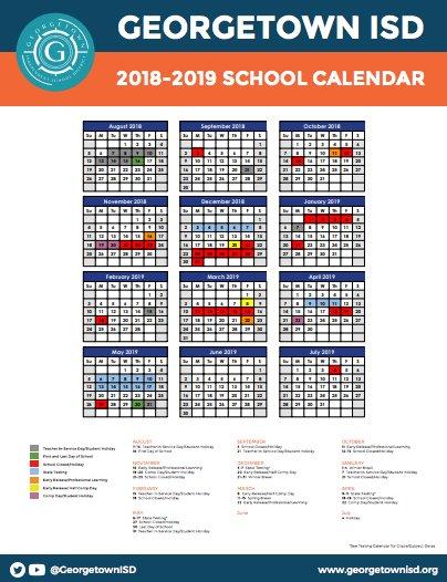 Academic Calendar Georgetown.Georgetown Isd On Twitter This School Year Is Winding Down But