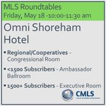 Join us tomorrow for dialogue on MLS issues and topics, facilitated by CMLS. #NARLegislative