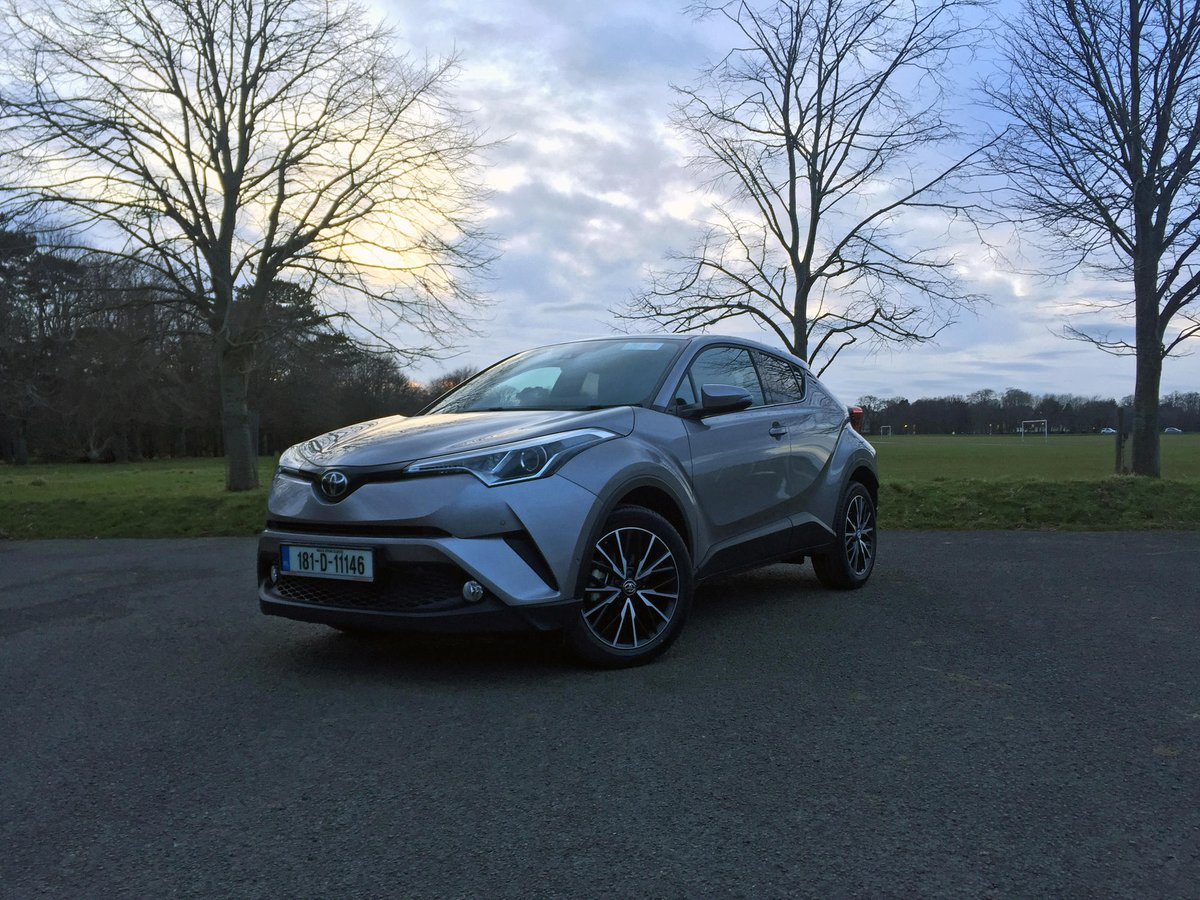 Toyota Self Charging Hybrids Drive In Pure Ev Mode 30 50 Of The Time Which Made Driving Around Phoenix Park Quite An Experience