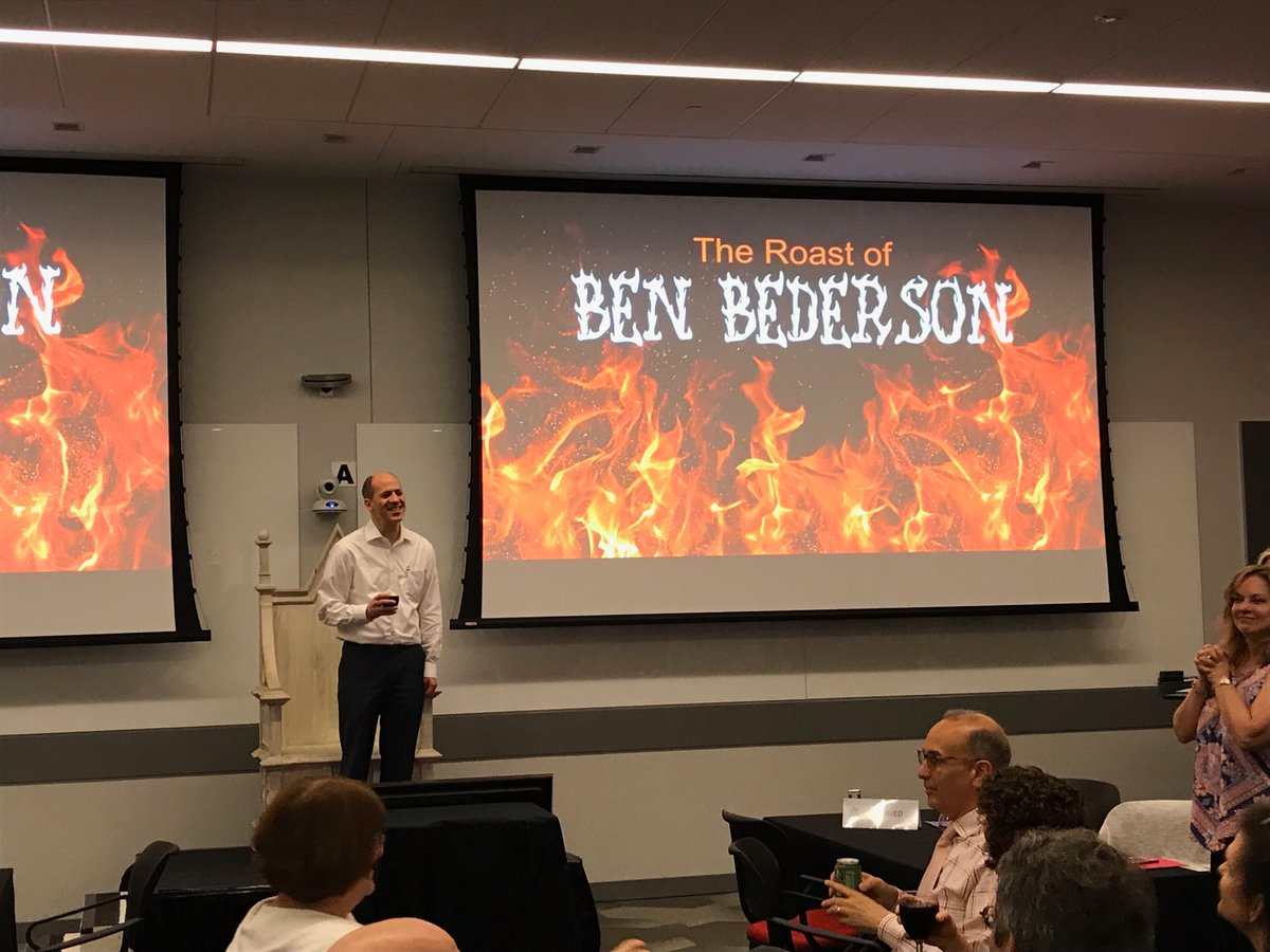 Fond farewell to a great friend and @umdcs colleague, Ben Bederson!