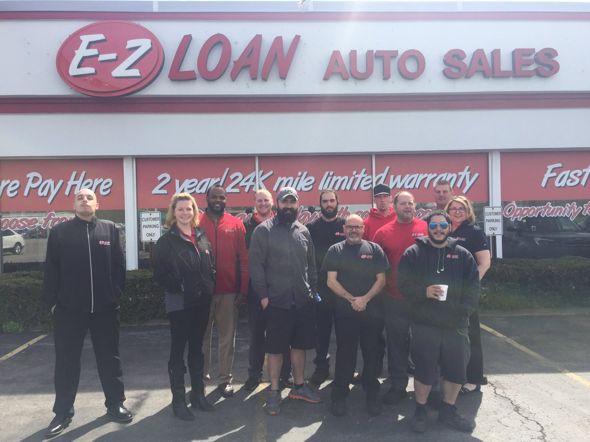 E Z Loan Auto Sales On Twitter Our Dedicated Team Of Mechanics