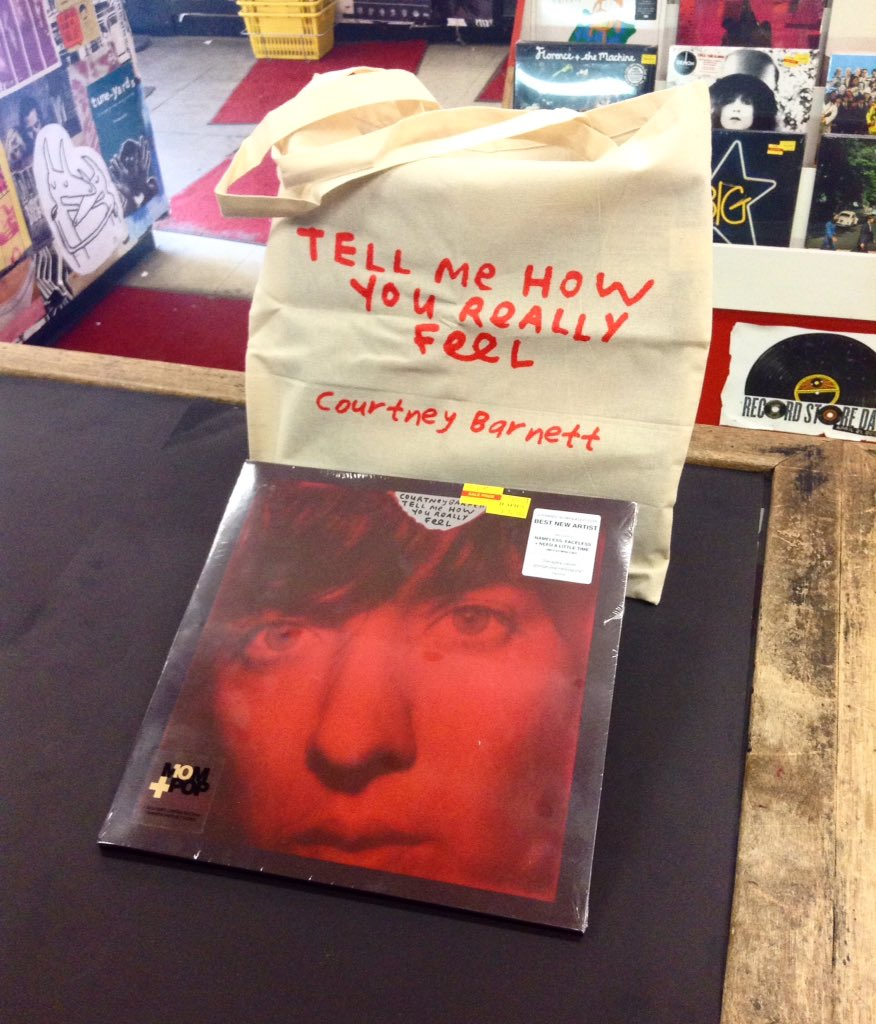 a463d7c84 ... 'Tell Me How You Really Feel'. We'll have it available on CD, black  vinyl, ltd. red vinyl, and an even more ltd. red vinyl with tote bag!