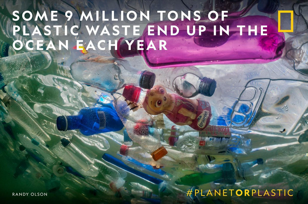 Great to see @NatGeo launching a multi-year initiative to reduce sing-use plastic in our oceans! #planetorplastic #plasticfree