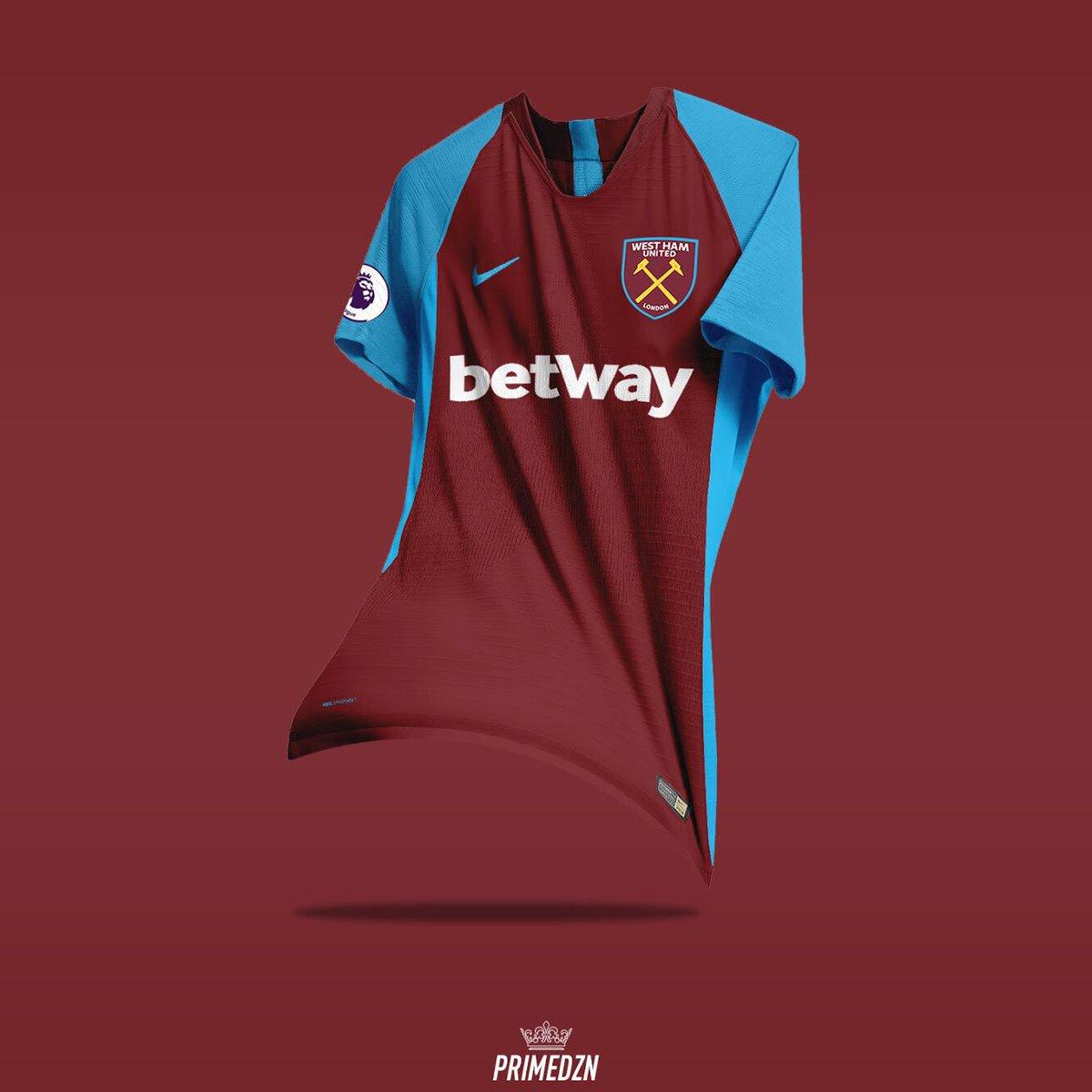 nike  football  kit  concept  design  west  ham  westham  united   photoshop  ad  WestHam Central  ExWHUemployee  WestHam flpic.twitter .com LuuBxodVNa 7c5e6f6bf