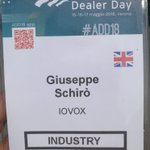 Un fantastico evento @automotivedday #ADD18   With Giuseppe Schirò from #iovox on the scene in #Verona (tough duty, Giuseppe!) we were well represented. When it comes to call tracking in #automotive for #dealers and #marketplaces, iovox is the answer. https://t.co/4GvGHzTYVh