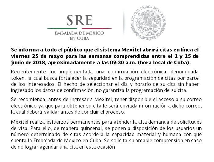 EmbaMex Cuba on Twitter: