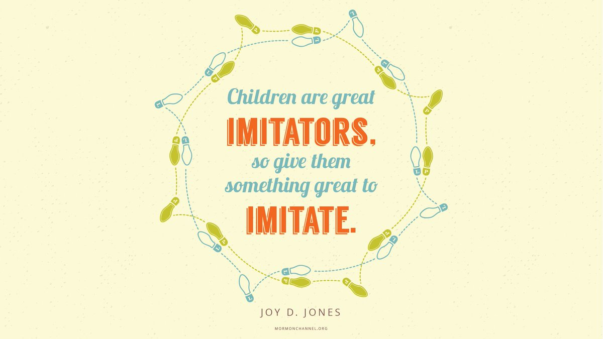&quot;As you teach, lead, and love children, you can receive personal revelation that will aid you in creating and arming valiant, sin-resistant children.&quot; —Joy D. Jones #DailyQuote <br>http://pic.twitter.com/2KtYeqBO6C