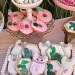 """8 Likes, 1 Comments - Dnichys Cakes (@dnichys) on Instagram: """"#Dnichys #Dnichyscakes&cookies #sugarcookies #babyshowercookies #girlycookies #handpainted…"""" This fantastic party idea was featured today on https://t.co/2n0L40LUCS! #partyideas #party #birthdayparty #holiday #celeb…"""