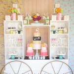 """408 Likes, 9 Comments - One Inspired Party (@oneinspiredparty) on Instagram: """"A final view of this flashback look of Nicole's flower market party. Made possible by the super…"""" This fantastic party idea was featured today on https://t.co/2n0L40LUCS! #partyideas #party #birthday…"""