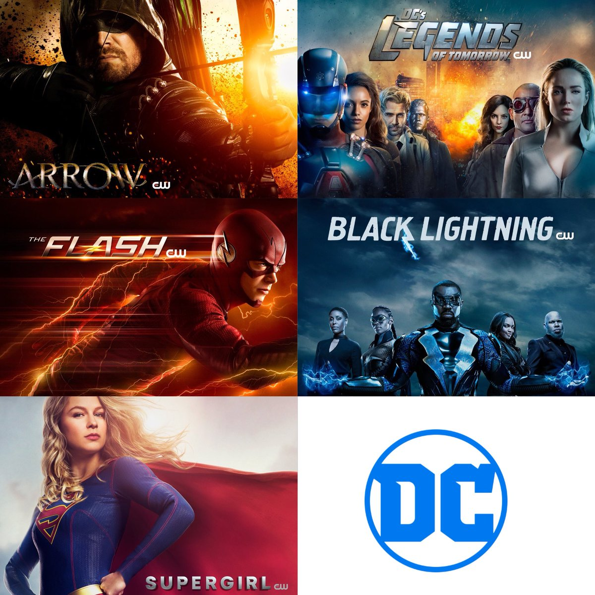 Dc Comics United ʬ On Twitter This Fall Sunday Supergirl Monday Arrow Legends Of Tomorrow Tuesday The Flash Black Lightning