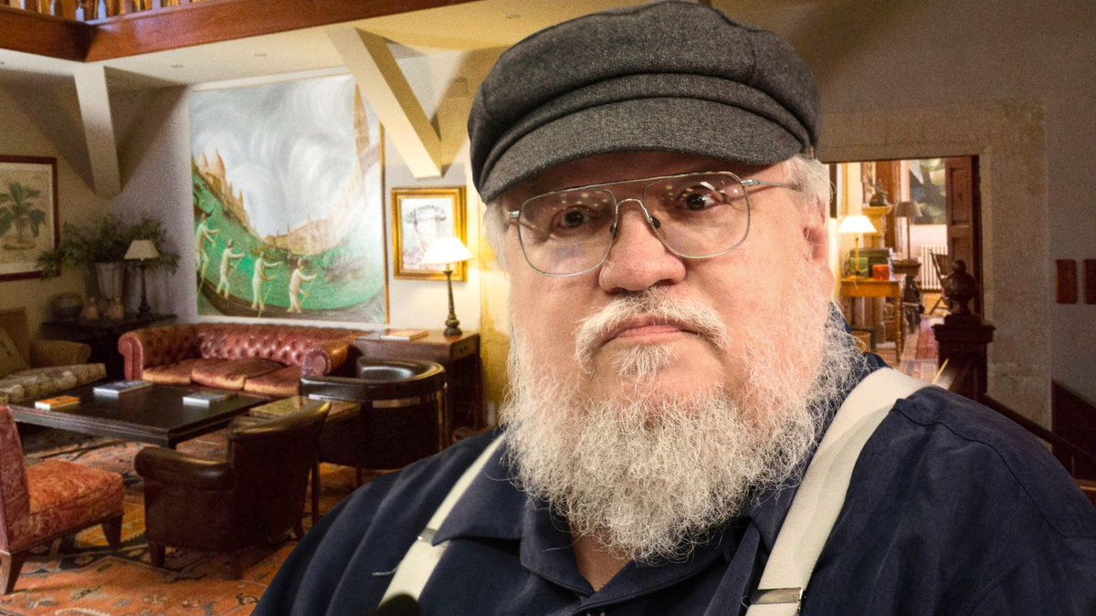 George R.R. Martin Promises Fans 'The Winds Of Winter' Is Nearly Started trib.al/7ZFB768